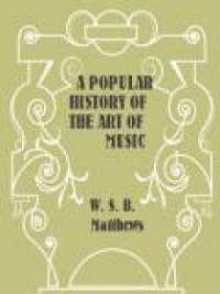 A Popular History of the Art of Music