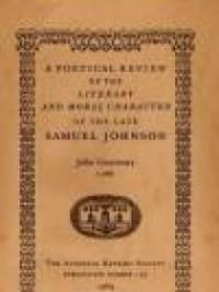 samuel johnson moral essays Samuel johnson was born on he produced the more than two hundred rambler essays in 1759 his mother sarah died, and, in a somber mood, he wrote the moral.
